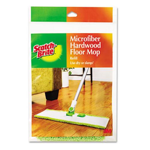 Scotch-Brite Hardwood Floor Mop Refill, Microfiber (MMMM005R)