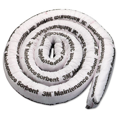 3M Maintenance Sorbent Mini-Boom, 3gal Sorbing Volume Each, 4/Carton (MMMMMB312)