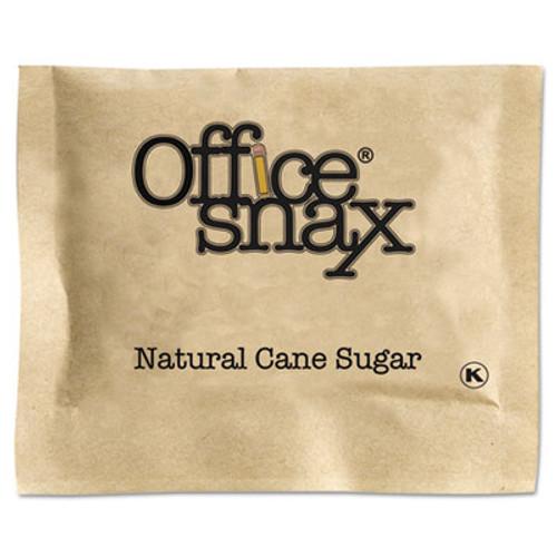 Office Snax Natural Cane Sugar, 2000 Packets/Carton (OFX00063)