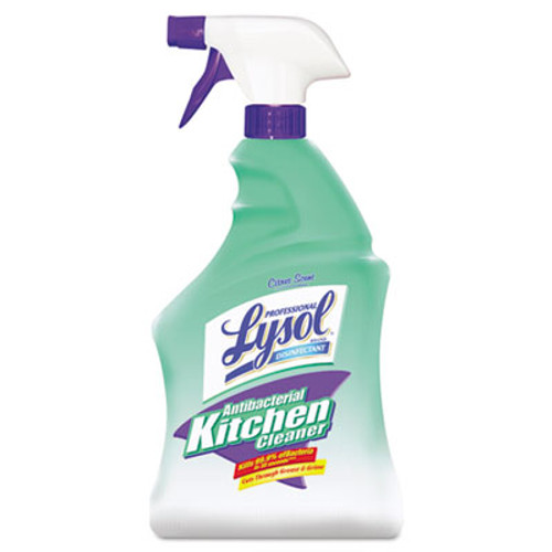 Professional LYSOL Antibacterial Kitchen Cleaner, 32oz Spray Bottle (RAC74411EA)