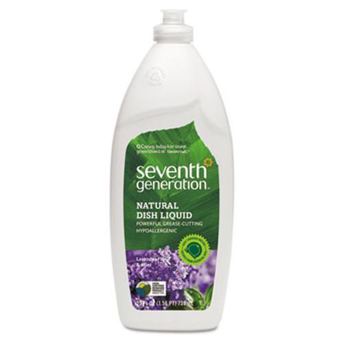 Seventh Generation Natural Dishwashing Liquid, Lavender Floral & Mint, 25 oz Bottle (SEV22734EA)