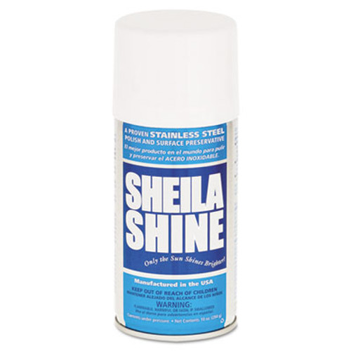 Sheila Shine Stainless Steel Cleaner & Polish, 10oz Aerosol (SSI1EA)