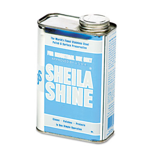 Sheila Shine Stainless Steel Cleaner & Polish, 1qt Can (SSI2EA)