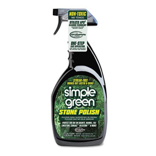 Simple Green Streak-Free Stone Polish, Unscented, 32oz Bottle (SMP18402)