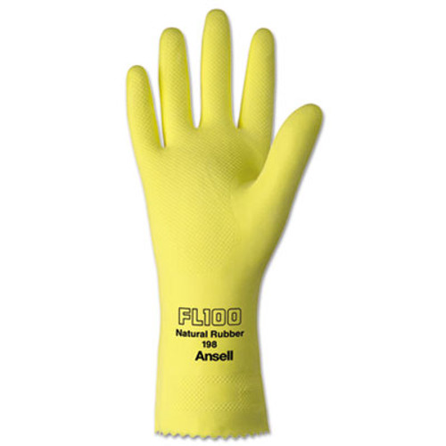 AnsellPro ProTuf Latex/Nylon Lightweight Gloves, Large, 12 Pairs (ANS198L9CT)
