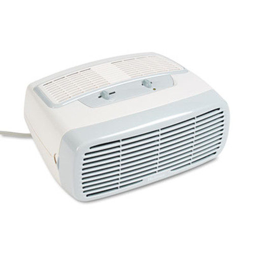 Holmes 99% HEPA Desktop Air Purifier, 110 sq ft Room Capacity, White (HLSHAP242NUC)