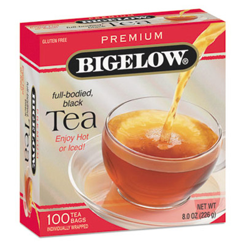 Bigelow Single Flavor Tea, Premium Ceylon, 100 Bags/Box (BTC00351)