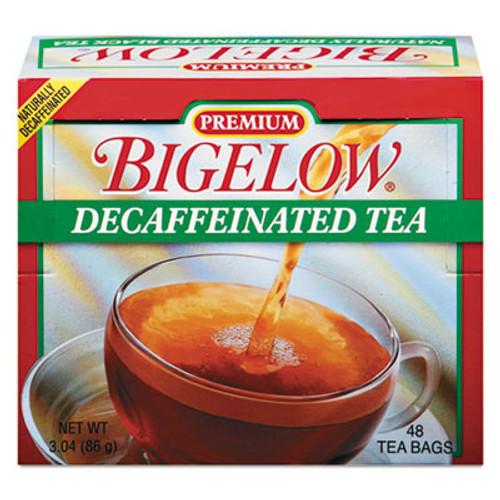 Bigelow Single Flavor Tea, Decaffeinated Black, 48 Bags/Box (BTC00356)