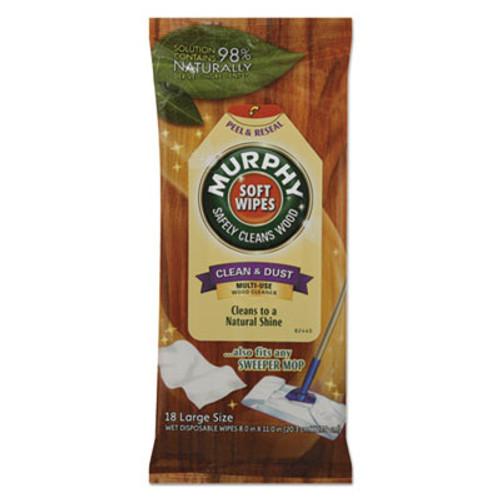 Murphy Soft Wipe, Cloth, 8 x 11, White, 18/Pack (CPC25902PK)