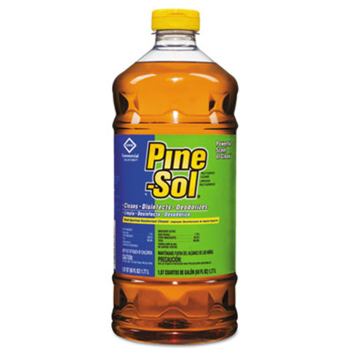 Pine-Sol Multi-Surface Cleaner Disinfectant, Pine, 60oz Bottle (CLO41773EA)