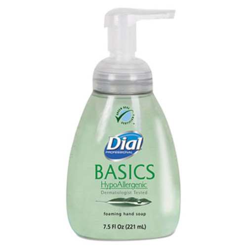 Dial Basics Foaming Hand Soap, 7.5oz, Honeysuckle (DIA06042)