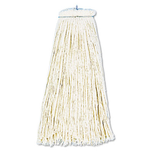 Boardwalk Cut-End Lie-Flat Wet Mop Head, Cotton, 16oz, White (BWK716CEA)