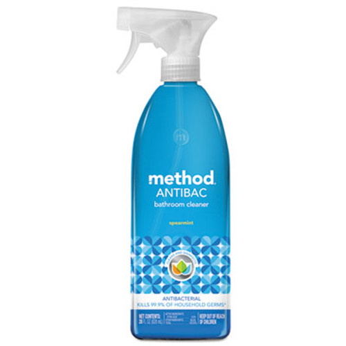 Method Antibacterial Spray, Bathroom, Spearmint, 28oz Bottle (MTH01152)