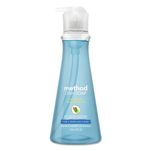 Method Dish Soap, Sea Minerals, 18 oz Pump Bottle (MTH00734)
