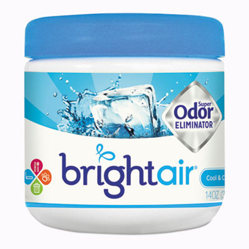 BRIGHT Air Super Odor Eliminator, Cool and Clean, Blue, 14oz (BRI900090EA)