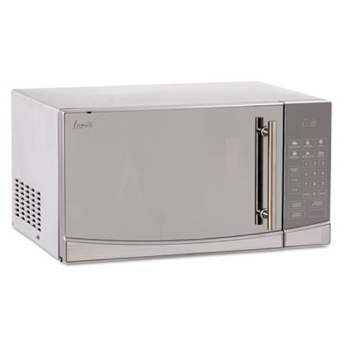 Avanti 1.1 Cubic Foot Capacity Stainless Steel Touch Microwave Oven, 1000 Watts (AVAMO1108SST)