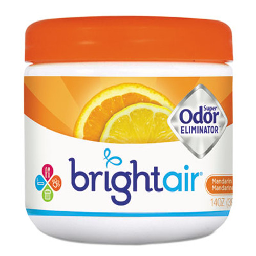 BRIGHT Air Super Odor Eliminator, Mandarin Orange and Fresh Lemon, 14oz (BRI900013EA)