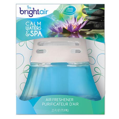 BRIGHT Air Scented Oil Air Freshener, Calm Waters and Spa, Blue, 2.5oz (BRI900115EA)