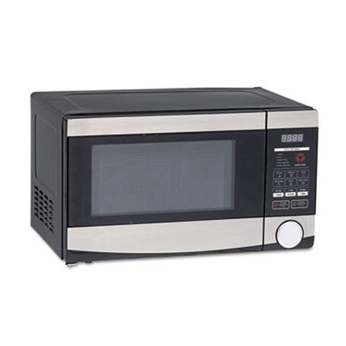 Avanti 0.7 Cu.ft Capacity Microwave Oven, 700 Watts, Stainless Steel and Black (AVAMO7103SST)