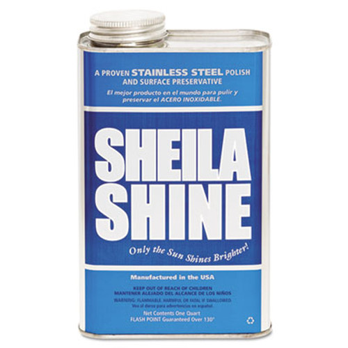 Sheila Shine Stainless Steel Cleaner & Polish, 1gal Can, 4/Carton (SSI4CT)
