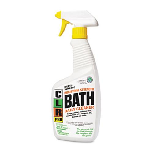 CLR Bath Daily Cleaner, Light Lavender Scent, 32oz Pump Spray, 6/Carton (JELBATH32PRO)
