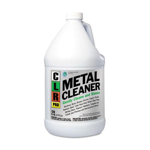 CLR Metal Cleaner, 128oz Bottle, 4/Carton (JELCLRMC4PRO)