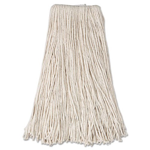 Anchor Brand Cut-End Mop Head, Cotton, 24oz, White (ANR24MPHD)