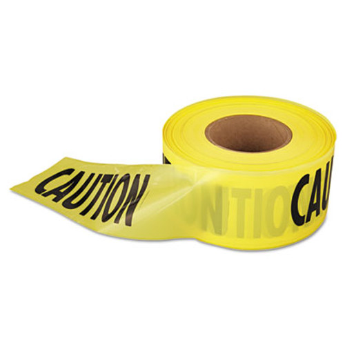"""Empire 1,000 ft. x 3 in. """"Caution"""" Barricade Tape (Yellow) (EML711001)"""