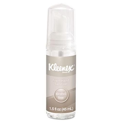 Kleenex Alcohol-Free Foam Hand Sanitizer, 1.5 oz, Clear (KCC34136EA)