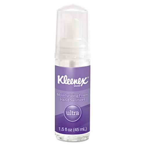 Kleenex Ultra Moisturizing Foam Hand Sanitizer, 1.5 oz, Clear (KCC34604EA)