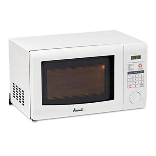 Avanti 0.7 Cubic Foot Capacity Microwave Oven, 700 Watts, White (AVAMO7191TW)