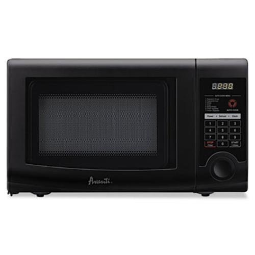 Avanti 0.7 Cubic Foot Capacity Microwave Oven, 700 Watts, Black (AVAMO7192TB)