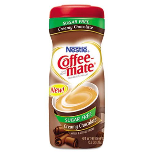 Coffee-mate Sugar Free Creamy Chocolate Flavor Powdered Creamer, 10.2 oz (NES59573)