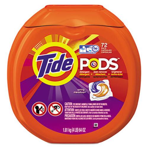 Tide Detergent Pods, Spring Meadow Sent, 72 Pods/Pack (PGC50978)