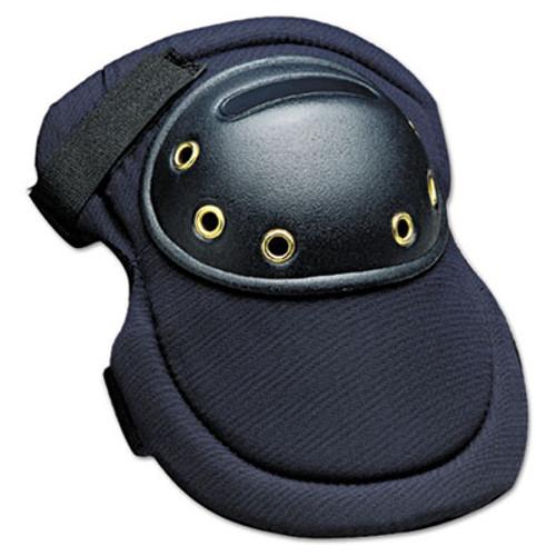 "Allegro MaxKnee Knee Protection, Hook & Loop Closure, Nylon/Foam/ABS, Navy, 8""W x 11""L (ALG7102)"