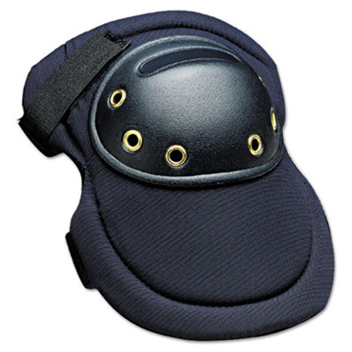 "Allegro MaxKnee Knee Protection, Hook & Loop Closure, Nylon/Foam/ABS, Navy, 8""W x 11""L (ALG7102)"