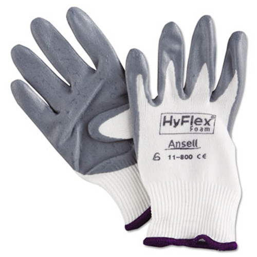 AnsellPro HyFlex Foam Gloves, Size 6 (ANS118006)