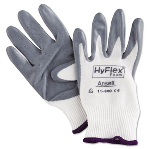 AnsellPro HyFlex Foam Gloves, Size 6 (ANS118006)