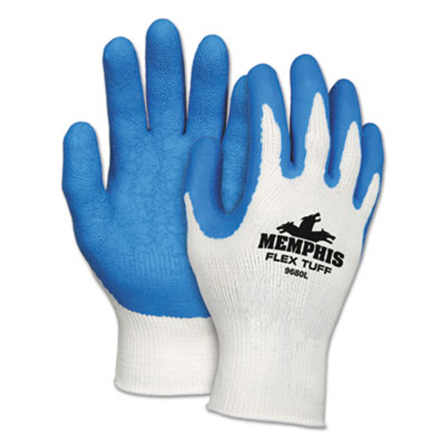 MCR Safety Premium Latex-Coated String-Knit Gloves, X-Large, 12 Pairs (MPG9680XL)
