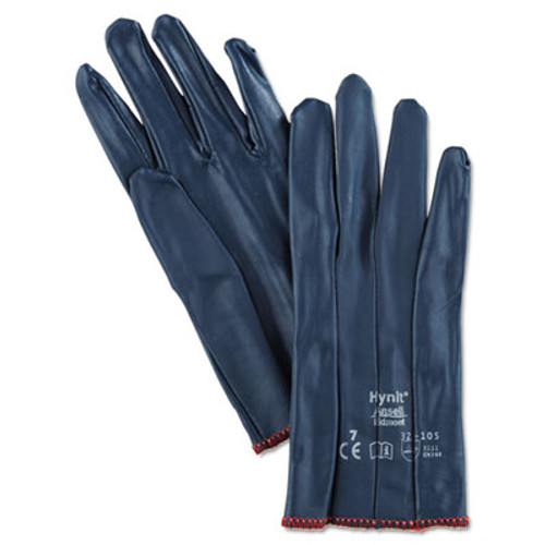 AnsellPro Hynit Nitrile-Impregnated Gloves, Size 7 (ANS321057)