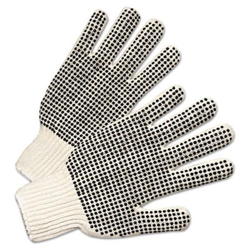 Anchor Brand Regular-Weight PVC-Dot String-Knit Gloves, Men's (ANR6710)