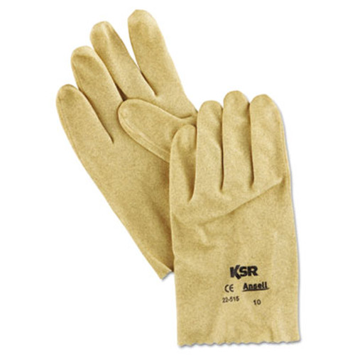 AnsellPro KSR Vinyl-Coated Knit-Lined Gloves, Size 10 (ANS2251510)