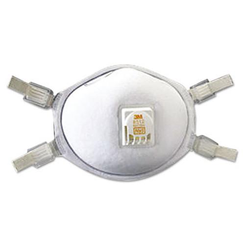 3M N95 Particulate Respirator, Half Facepiece, Adjustable Strap (MMM8512)
