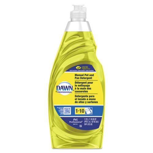 Dawn Manual Pot & Pan Dish Detergent, Lemon, 38 oz Bottle (PGC45113EA)