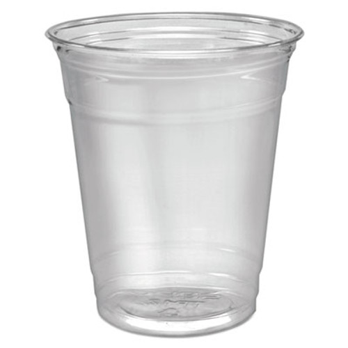 Dart Ultra Clear Cups, Squat, 12-14 oz, PET, 50/Pack (DCCTP12PK)
