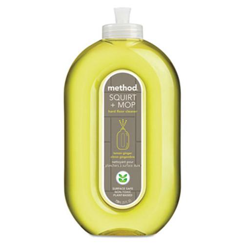 Method Squirt + Mop Hard Floor Cleaner, 25 oz Spray Bottle, Lemon Ginger Scent (MTH00563)