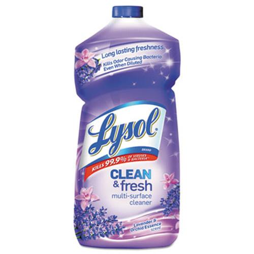 LYSOL Clean & Fresh Multi-Surface Cleaner, Lavender & Orchid Scent, 40 oz Bottle (RAC78631EA)