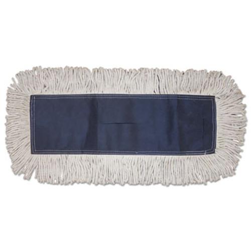 Boardwalk Disposable Dust Mop Head, Cotton, Cut-End, 60w x 5d (BWK1660CT)