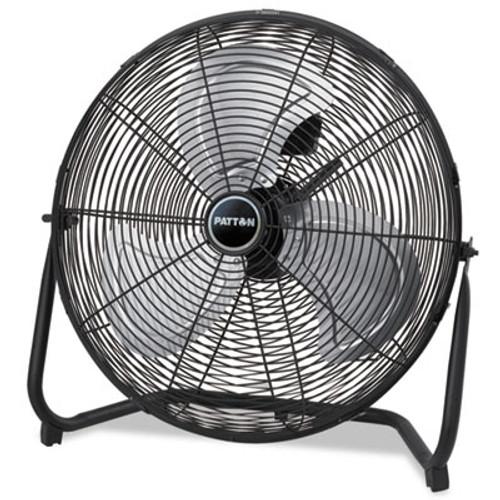 """Patton High Velocity Fan, Three-Speed, Black, 24 1/2""""W x 8 5/8""""H (PATPUF2010CBM)"""