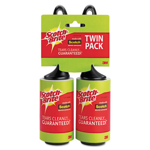 Scotch-Brite Lint Roller, 2/Pack (MMM836RS56TPP)